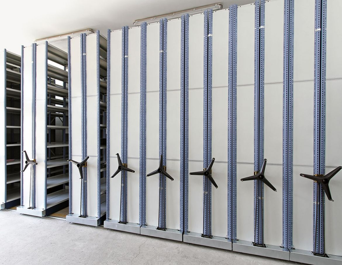 Mobile Shelving 1