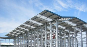 Cantilever Racking With Canopies