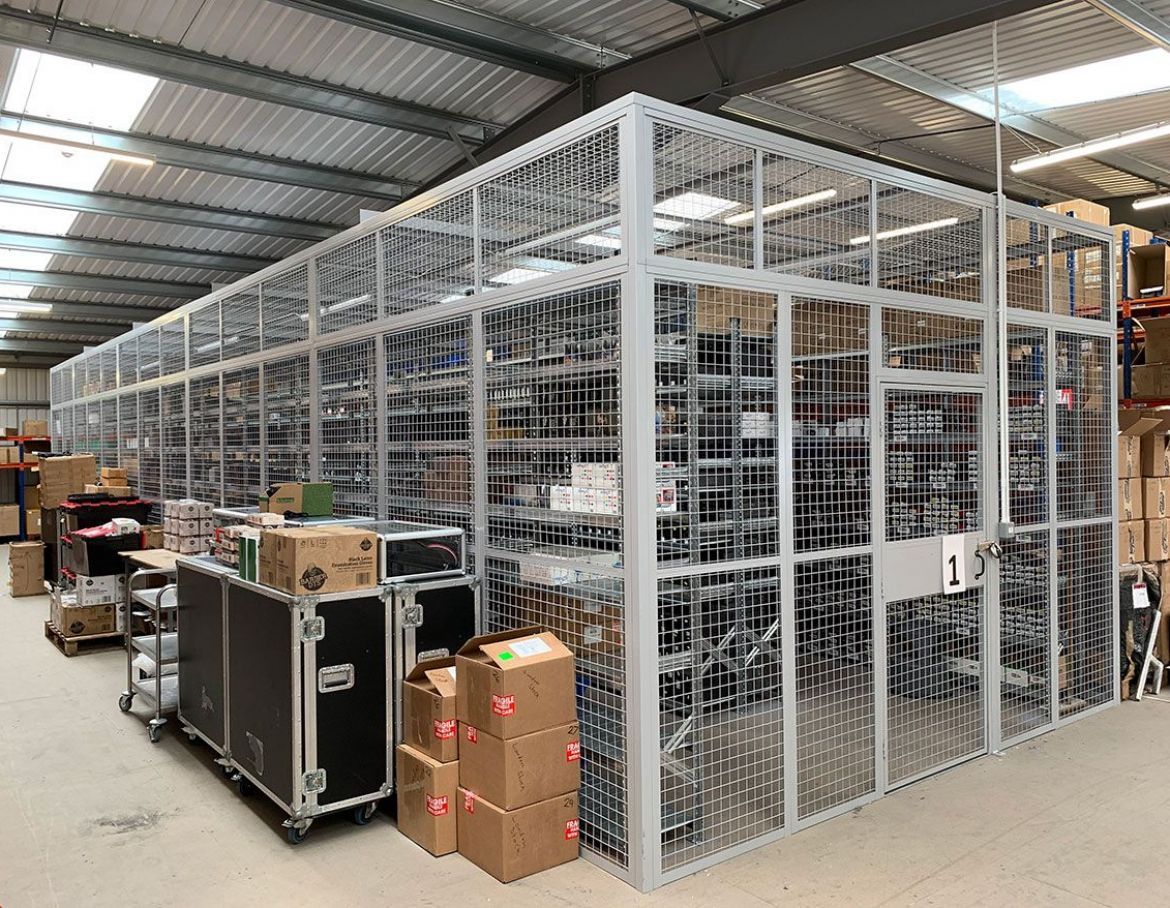 Security Cages 1